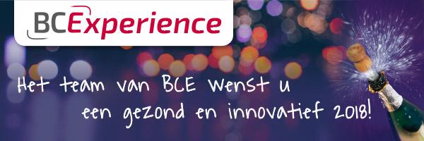 BCExperience - Wij wensen u een gezond en innovatief 2018!
