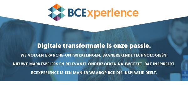 BCExperience - Digitale transformatie is onze passie.