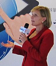 Karen speaking in Taiwan