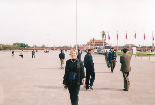 Karen in China 2001