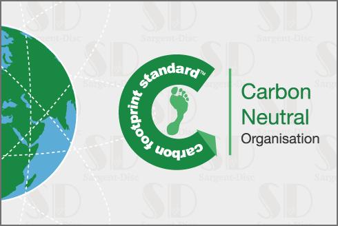 Sargent-Disc is now Carbon Neutral