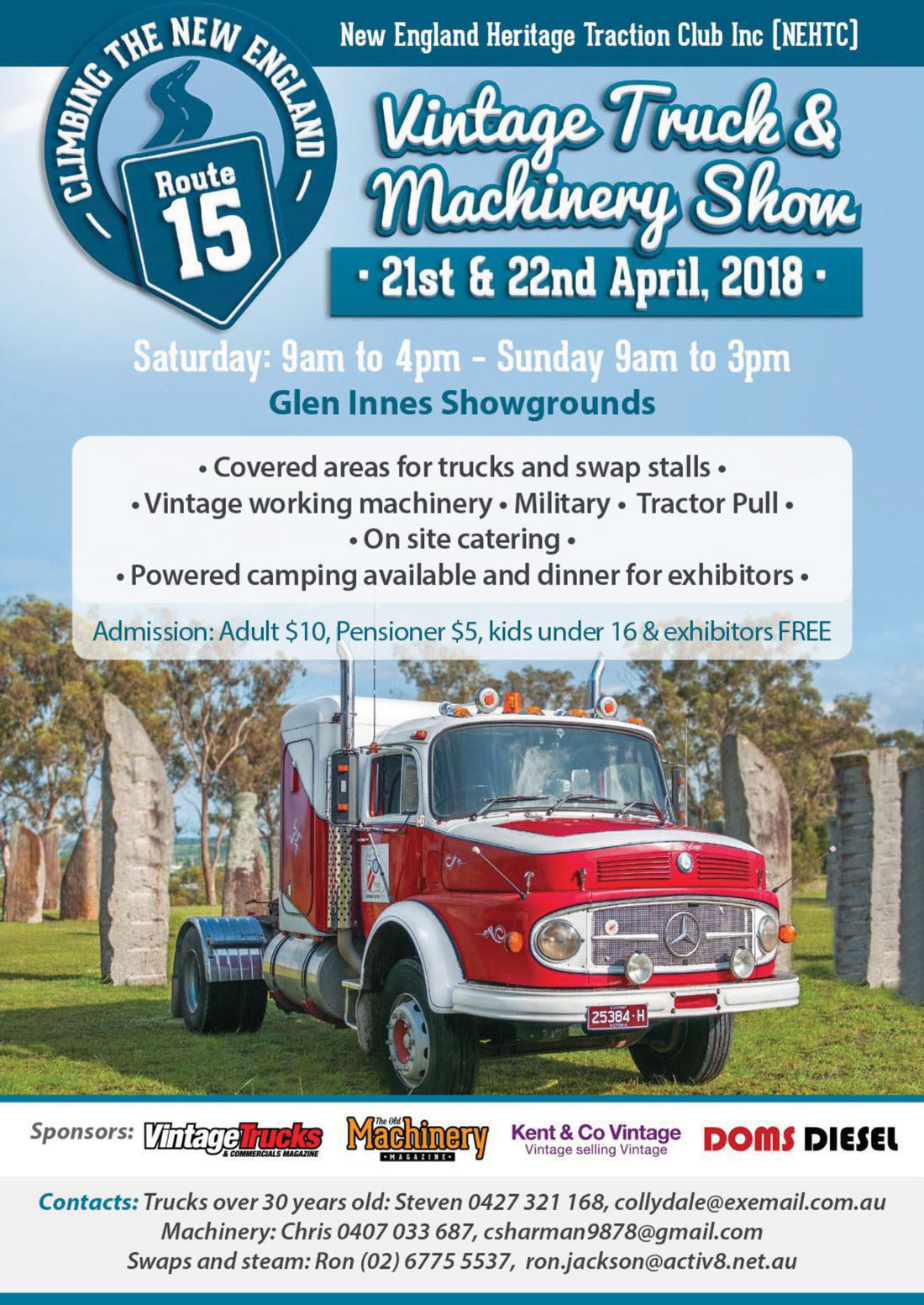Vintage Truck & Machinery Show