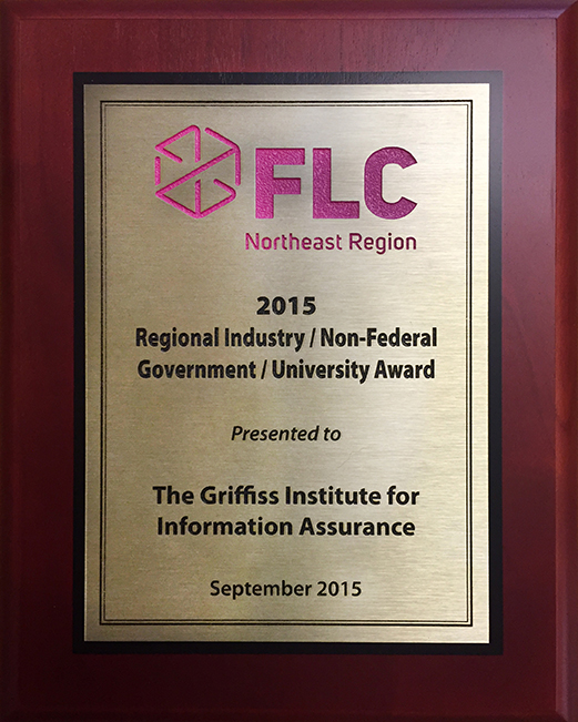 FLC Regional Industry / Non-Federal Government / University Award