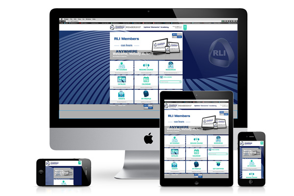 Uptime Elements Academy on various electronic devices