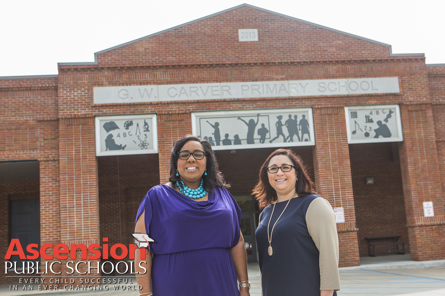 Principal and Asst. Principal at G.W. Carver Primary