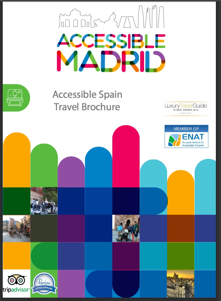 image of Accessible Spain brochure cover