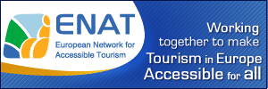 European Network for Accessible Tourism banner