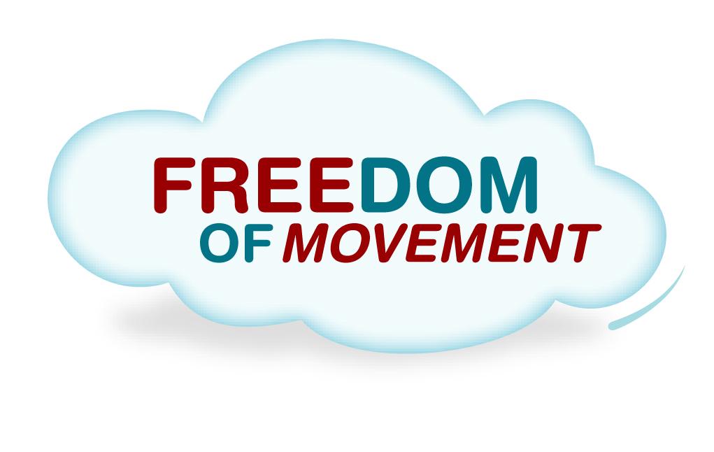 EDF logo Freedom of movement