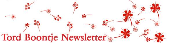 Tord Boontje Newsletter