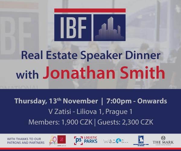 IBF Speaker Dinner   Thursday, 13th November   V Zatisi