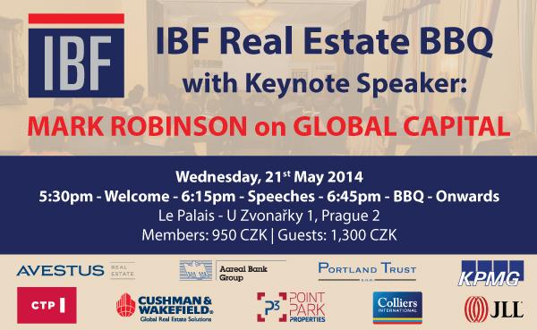 IBF Real Estate BBQ @ Le Palais   21st May 2014