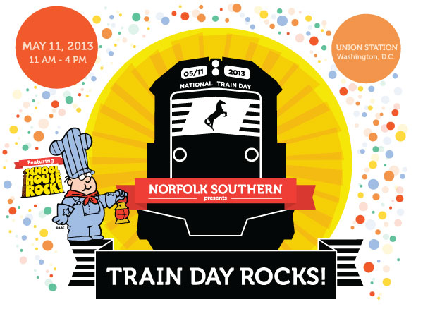 Norfolk Southern at National Train Day on Saturday! @ Union Station | Washington | District of Columbia | United States