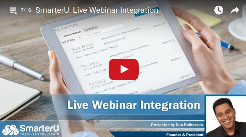 Live Webinar Integration