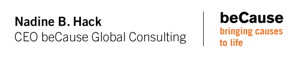 Nadine B. Hack | CEO beCause Global Consulting