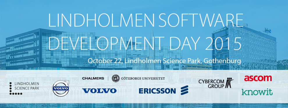 Lindholmen Software Development Day  2015
