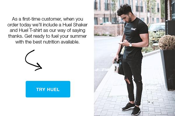 Free t-shirt & shaker, buy Huel