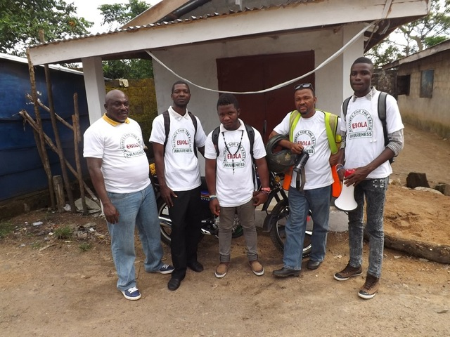 Ebola Awareness Team in Monrovia