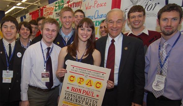 YAL with Congressman Paul