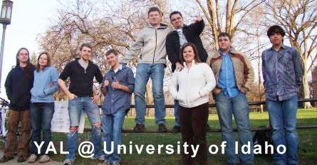 YAL @ University of Idaho