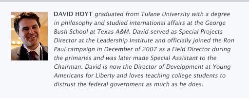 David Hoyt Bio
