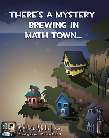 Mystery Math Town: Available April 3rd