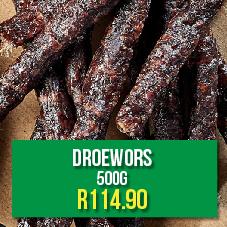 Droewors