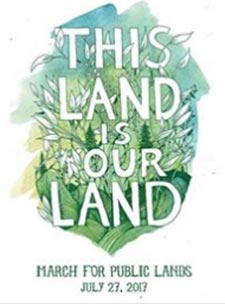 This Land is Your Land March for Public Lands