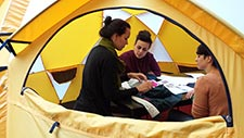VF Corp Tent