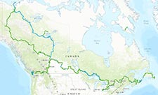The Great Trail Map