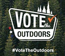 Vote The Outdoors Logo
