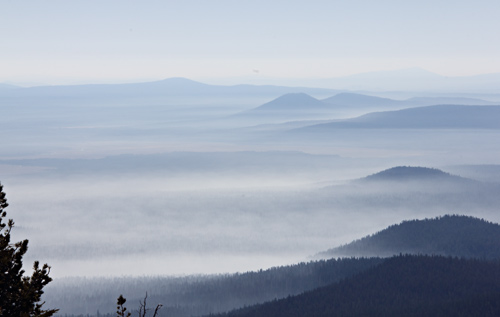 Photo: East of Mount Scott - Crater Lake National Park