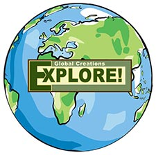 Global Creations EXPLORE! Logo