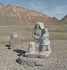 Relocation Monument, Grise Fiord, NU