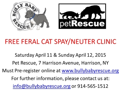 BBR Free Spay/Neuter Clinic
