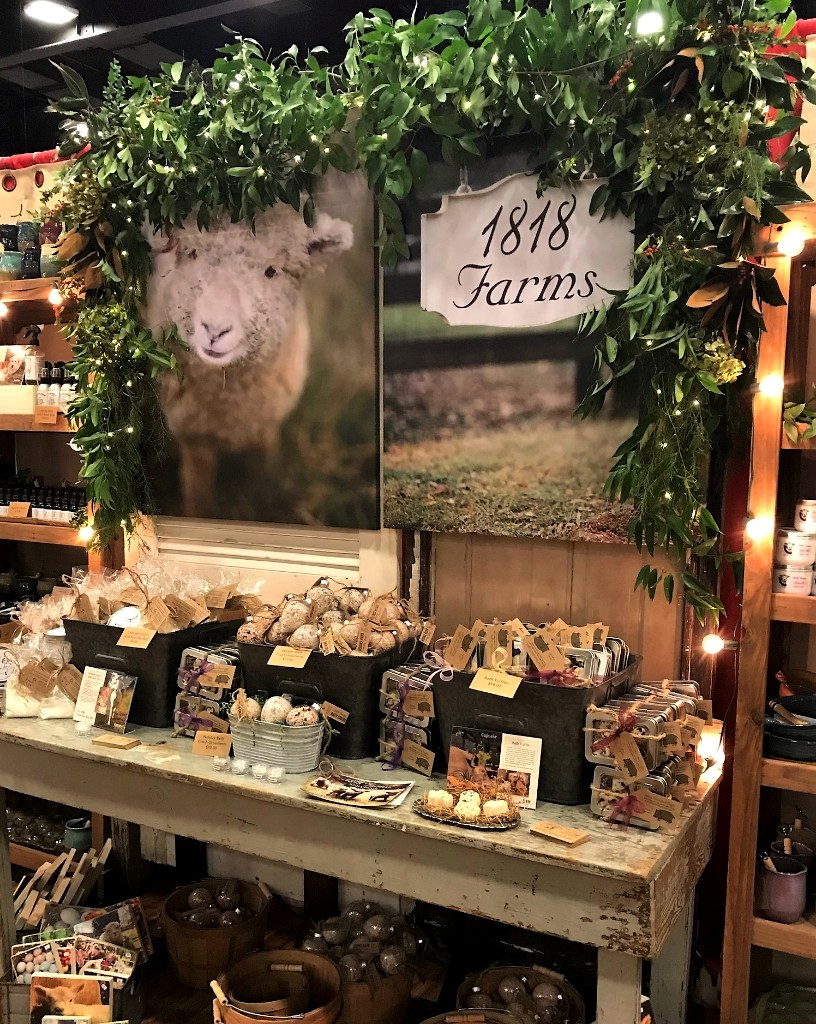 1818 Farms at Holiday Show