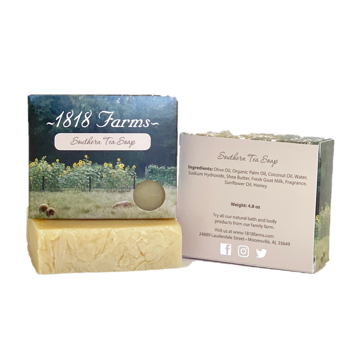 1818 Farms Soap - Southern Tea