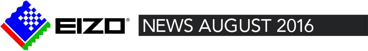 EIZO News August 2016