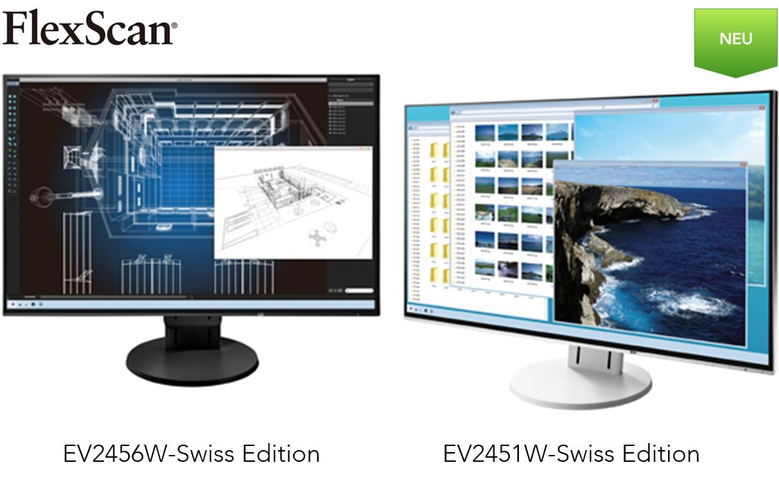 FlexScan EV2451W-Swiss Edition | EV2456W-Swiss Edition
