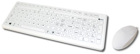 hygienische Tastaturen und Mäuse