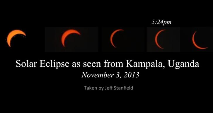 Solar Eclipse in Kampala