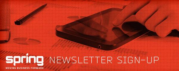 SPRING - Newsletter Sign-Up