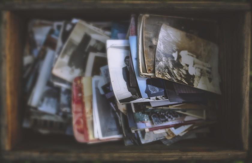 Box of heritage photos