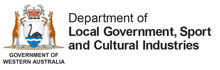 Department of Sport and Recreation and Lotterwest logo