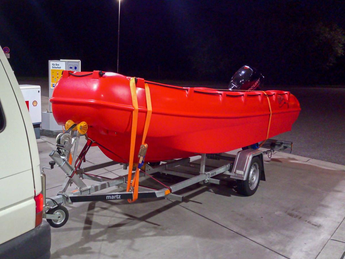 Sicherheit auf dem Wasser 16