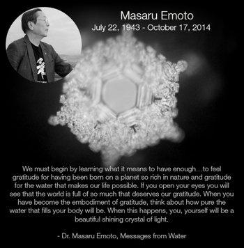 Dr. Masaru Emoto quote