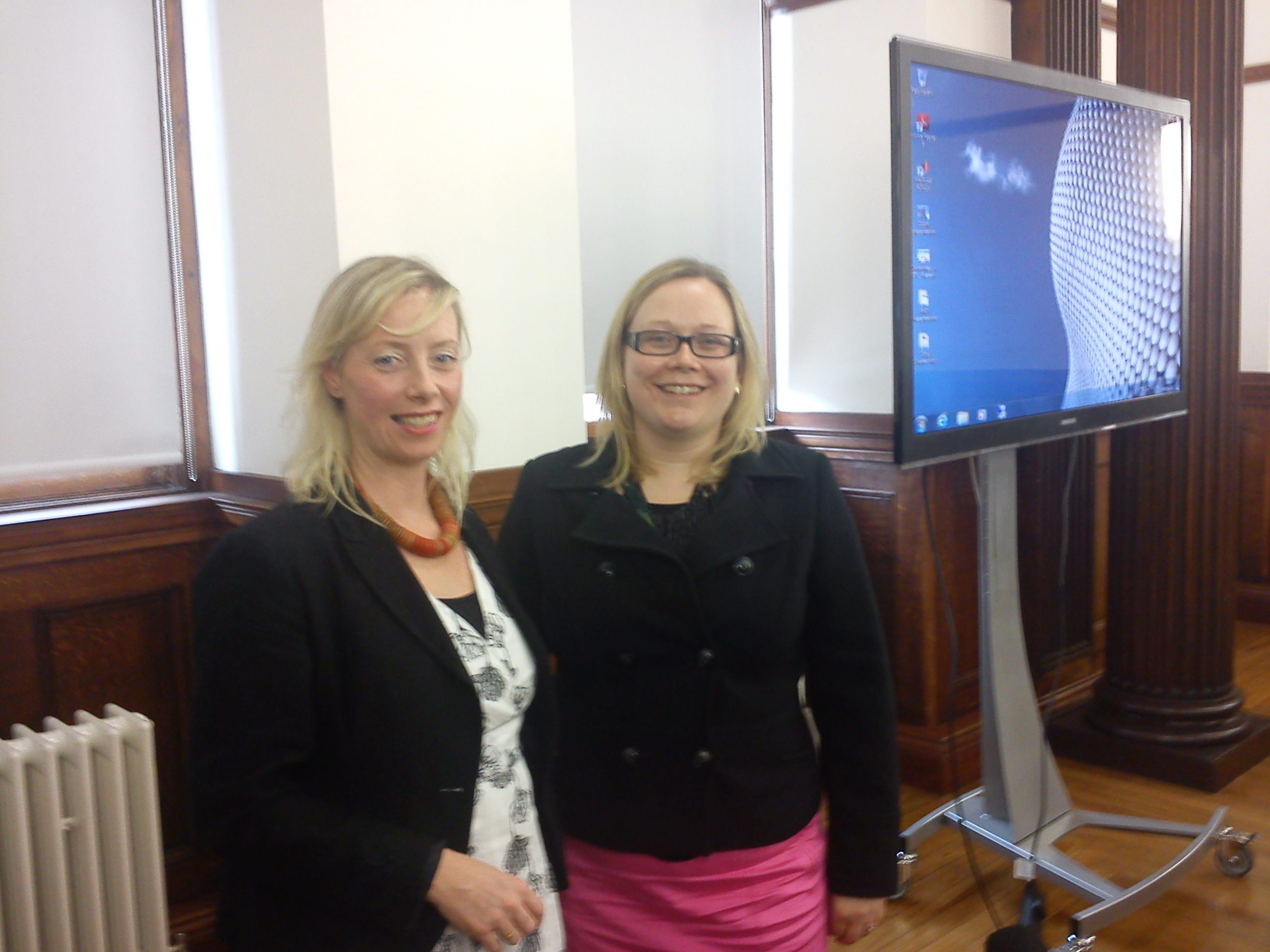 Pauline and Helen Thompson seminar at Strathclyde Wind Energy DTC