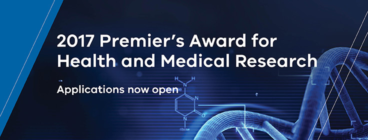 2017 Premier's Award for Health & Medical Research