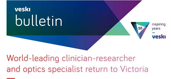 World-leading clinician-researcher and optics specialist return to Victoria