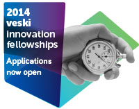 2014 veski innovation fellowships - applications now open