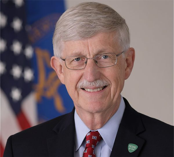 Francis Collins, MD, PhD, NIH director